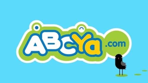 ABCya logo - educational website for kids.