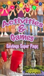 Activities & Game Savings - 9 awesome ideas for fun on the cheap!