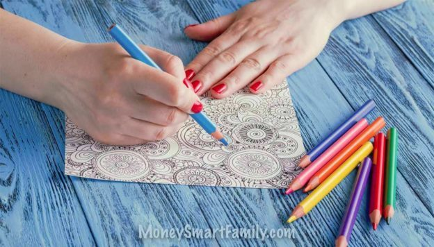 FREE Online Coloring Pages for Adults: 25 Cool Printable Design ...