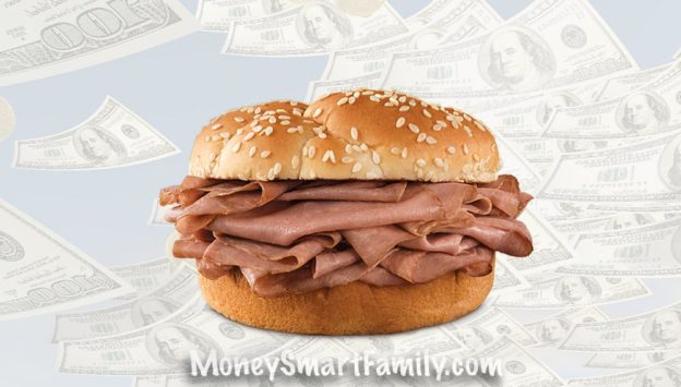 Get your money's worth at Arbys. #rip-off, #sandwich weight