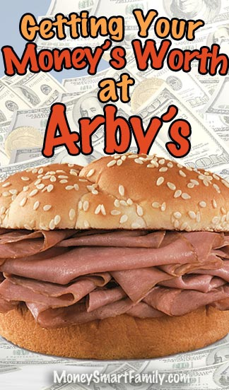 How to get your money's worth at Arbys. #rip-off, #sandwich weight