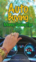 Auto/Car Buying Money Saving Tips & Ideas!