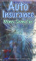 Money Saving Tips for Auto Insurance.