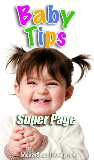 Baby Savings: Tips to save money and have a Happy & Healthy child!
