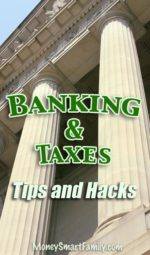 Banking and Tax Savings Money Hacks Super Page.