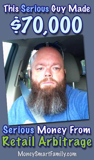 Scott Zilke The Bearded Picker - Retail Arbitrage Expert.
