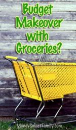 A Budget Makeover with Groceries is the fastest way to find cash!