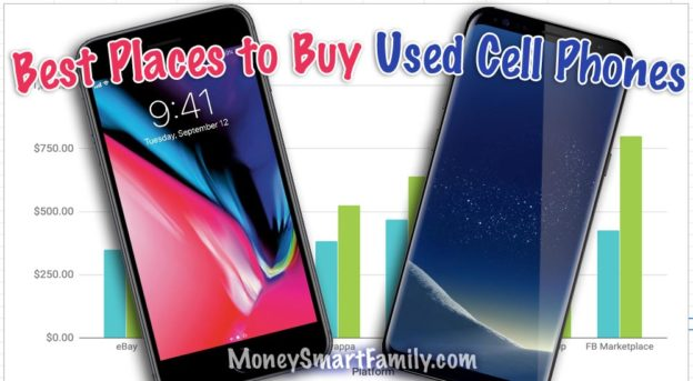 Best Places to buy used cell phones samsung galaxy s8+ and iPhone 8