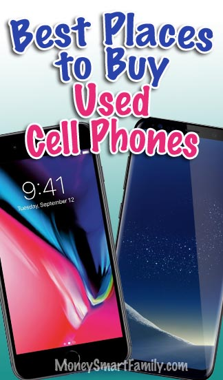 Find the best places to buy used cell phones samsung galaxy s8+ and iPhone 8