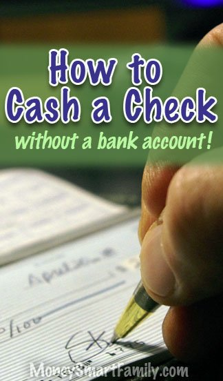 18 Places To Cash A Personal Check Fast, With No Bank