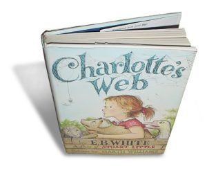 Charlotte's Web by EB White - Book Cover.