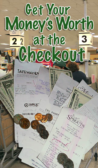 Getting Your Money's Worth at the checkout.