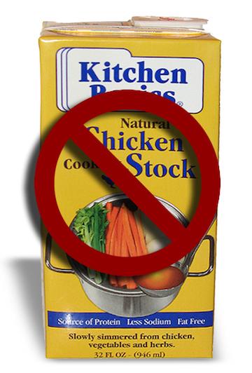 chicken stock box