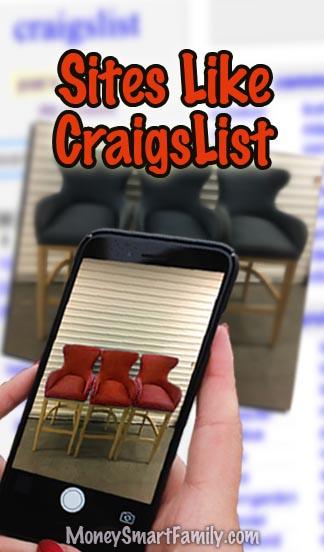 Sites Like Craigslist. #SellUsedItems #SellSafelyCraigslist #FlipUsedItems #SellStuffMakeMoney #AlternativesToCraigsList