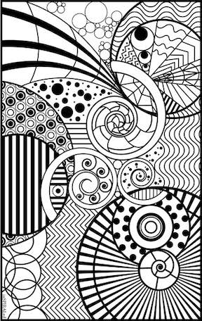 Crayola Free Coloring Pages for Adults