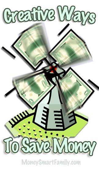 Creative Ways to Save Money-Dozens of Ways to Save Hundreds of Dollars! #CreativeWaysToSaveMoney #SaveMoney