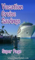 Vacation Cruise savings tips and tricks - super page.