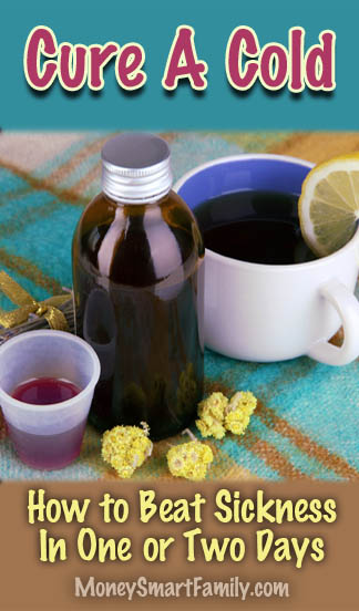 10 ways to cure a cold a one or two days.