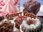 Delicious Dessert Recipes super page - you've got to try these! Includes Raspberry Meringues, Chocolatey Brownies, Chocolate Roma no-bake cookies and Cranberry Orange Bundt cake!