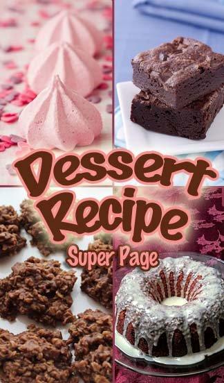 Best Dessert Recipes - A Delicious Recipe Roundup of Desserts! #bestdessertrecipes