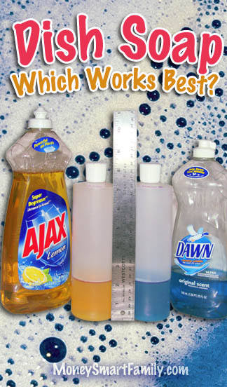 Dish Soap Testing Which Is Cheapest Amp Best Dawn Ajax