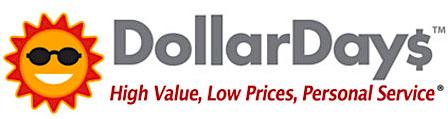Dollar Days discount store logo.