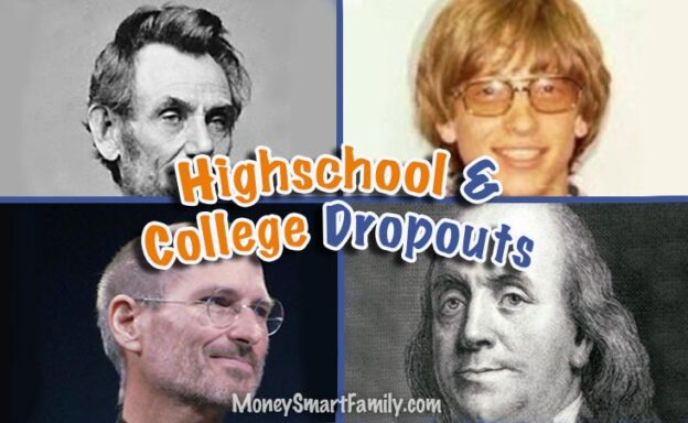 College and Highschool Dropouts who became great successes!