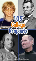 105 College Dropouts that proved to be very successful men & women!