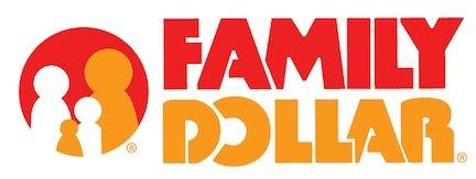 Family Dollar Store Logo.