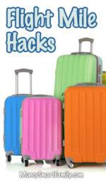 Flight mile hacks for saving money on vacations.