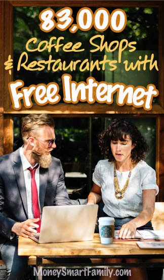 Coffee Houses & Restaurants that offer free wifi.