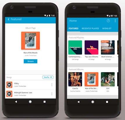 Freegal Music download app screenshots