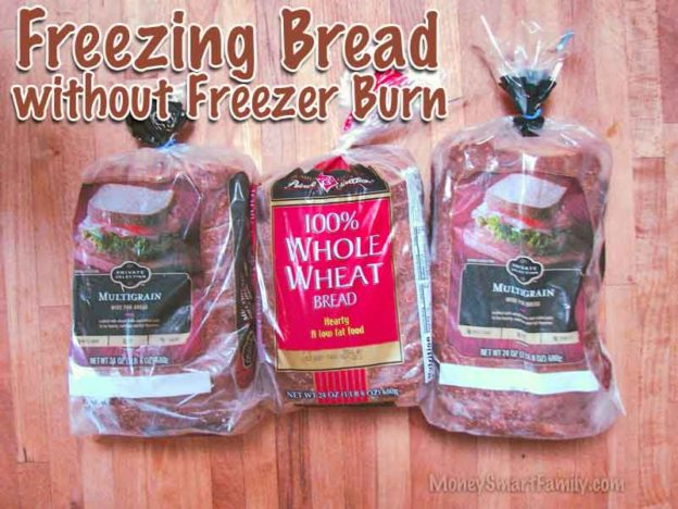 Want to know the best way to freeze store bought bread without getting freezer burn?