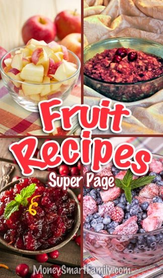 Flavorful Fruit Recipes RoundUp Page! #flavorfulfruitrecipes