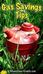 Gas Savings Tips for Your Car.