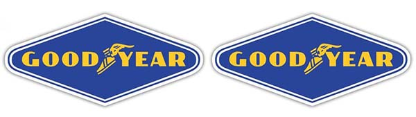 Free Goodyear tires decal