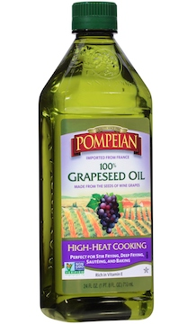 Grapeseed oil from the grocery store can help cure a cold.