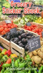 When grocery prices increase, here's how to stay in your grocery budget!
