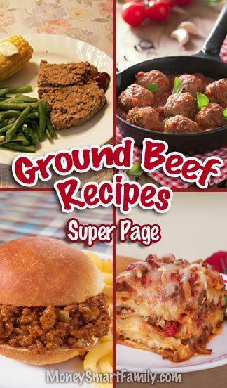 Ground Beef Main Dish Recipes! #GoundBeefMainDishRecipes