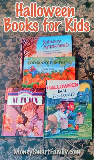 Halloween Books for Kids, Great Reading for the Fall season, Nice Halloween Picture books for families.