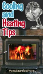 Heating & Cooling Tips to Save Money Around the Home