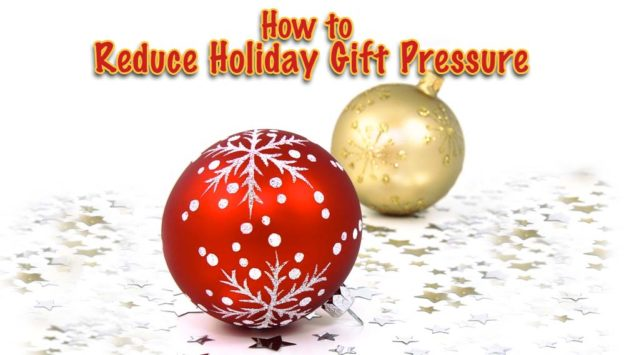 Reduce Holiday Gift Pressure Christmas Tree Ornaments