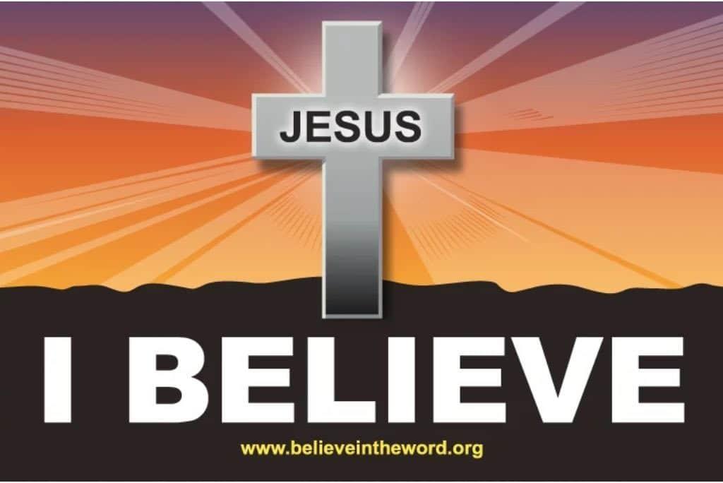 I Believe - Free Sticker