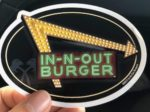In-n-Out Burger free stickers