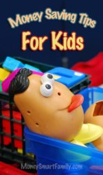 Money Saving tips for kids - Toys, Clothes and Life Skills.