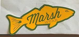 MarshWear Fish shaped Free Sticker