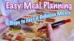 Easy Meal Planning to make menus