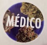A free sticker we recieved by mail from Medico.