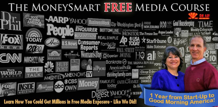 Get on TV - Money Smart Free Media Course