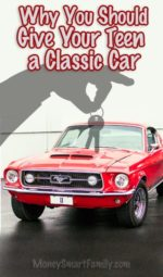 Why you should give your Teen a Classic Car.
